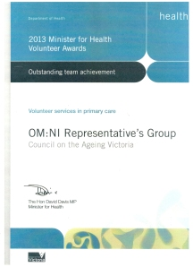 OMNI award 20130001