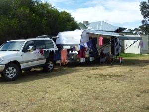 Girrawee freecamp - washing near home!!!