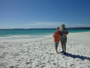 HYams Beach - whitest sand in the world