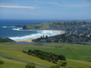 Werri Beach from Mt Pleasant Lookout