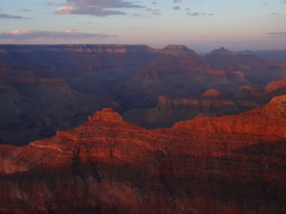 #1 GRAND CANYON at SUNSET. (Arizona)   #2 BRYCE CANYON. (Utah)
