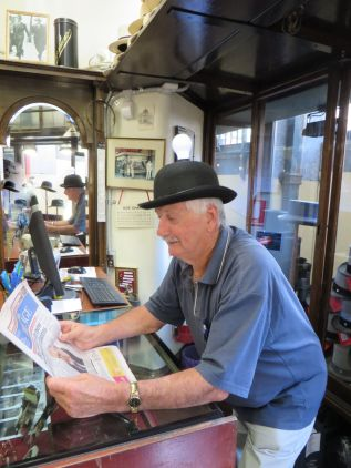 Daryl being bowled over with an enlightening story in the Melbourne Age!