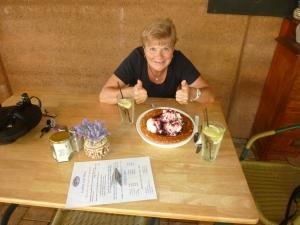 Berry & Ice-cream Pancake at Pemberton