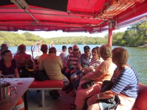 Kalgan Queen river cruise from Emu Point, Albany