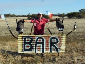 Love to have a beer with...........at Kulin