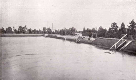 Preston Reservoir circa 1910