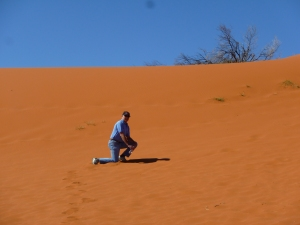 Red sand hills at Windorah