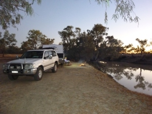 Jundah - Thompson River Free Camp