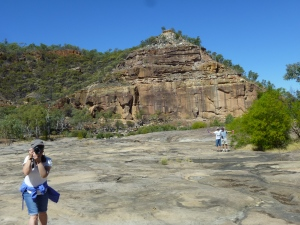 Pyramid Hill inside Porcupine Gorge with friends from Ballarat we caught up with for 3 days.