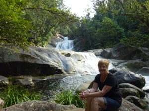Josephine Falls - peaceful now, but not in the wet season.