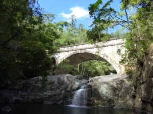 Old bridge in Paluma NP