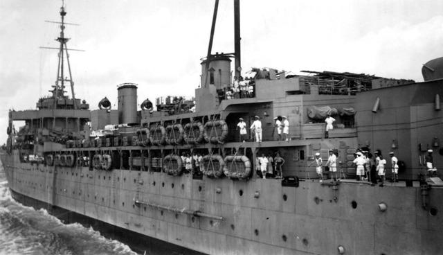 Destroyer Depot Ship HMS Hecla