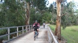 Fifth Annual Waeburton Rail Trail Ride 9th April 2015