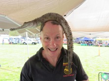 Raymond. We're here to educate people about reptiles -especially children.