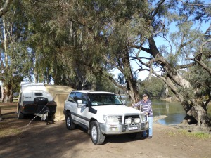 On the Murray at Barham