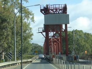 Renmark lift span bridge