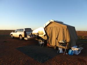 Camping at Arckaringa Homestead......Painted Desert