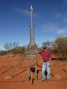 Lambert's Centre.....geographical centre of Australia