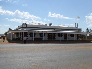 "The ""new"" Birdsville Pub"