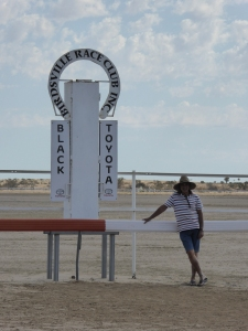 The Birdsville Track is ankle deep in bulldust, so pity help the faithful if race-day has any breeze