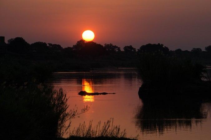 064 Kruger sunset