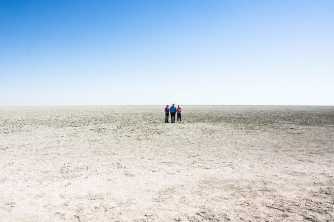223 Etosha - Gill, Mike & Jennifer on salt pan-1