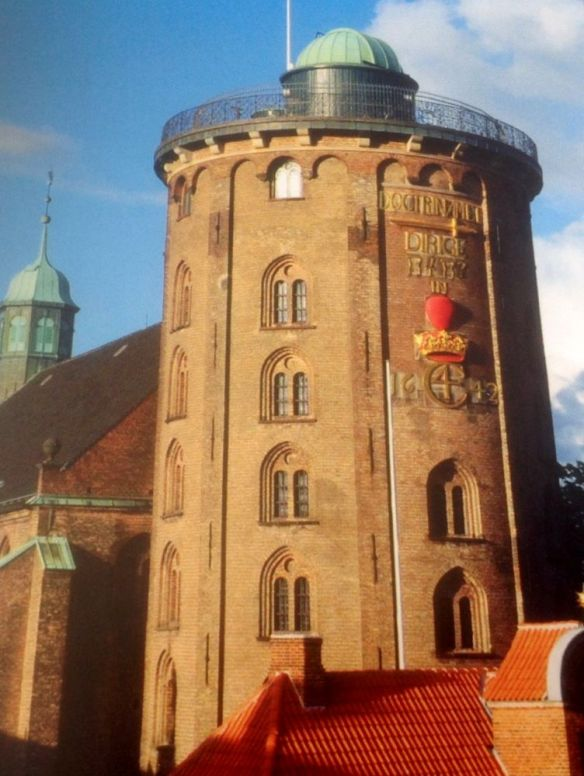 'The Round Tower' - once was an observatory.