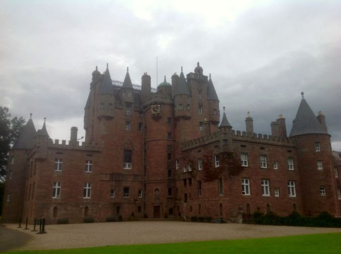 Glamis Castle in Angus. ( Possibly the ancestral home of the 'Hendrys' )