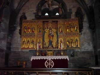 The altar, St Mary's, Bergen.