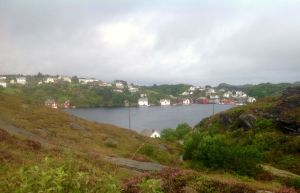 The village of Telavag which was completely destroyed by the Gestapo in WW11, because the villagers were ferrying escaped allied fighters to the Shetland Islands and returning with supplies for the resistance fighters. The village was rebuilt after the war.