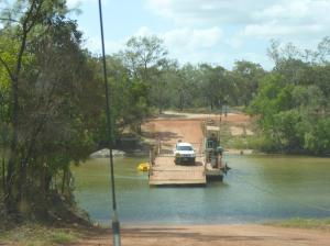 Jardine ferry crossing