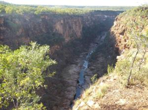 Small part of Porcupine Gorge, washed out over 260 million years