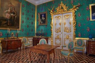 One of many grand rooms in the Hermitage