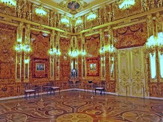 The Amber Room.