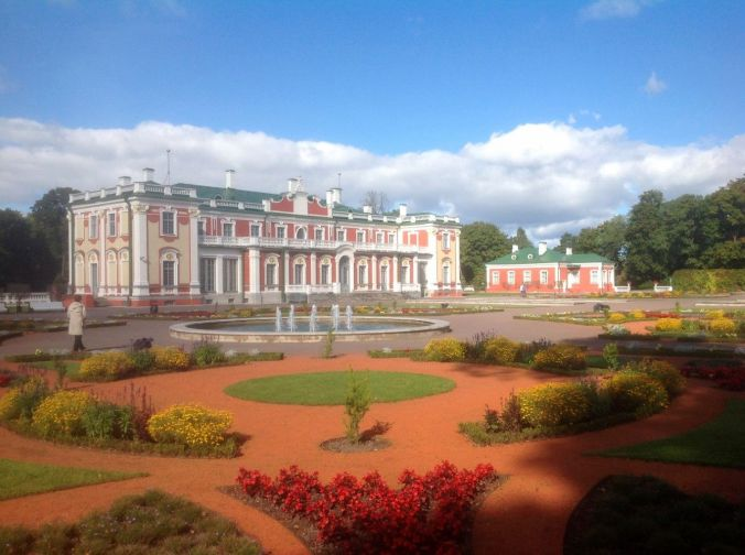 Old palace, now a museum/art gallery on the edge of Kadriorg Park