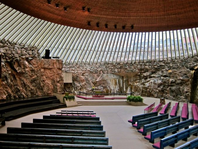 Rock Church, Helsinki.