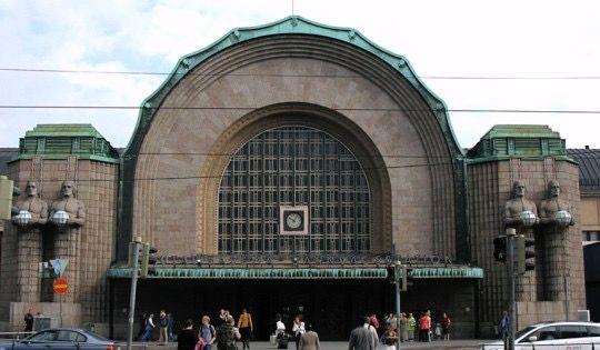 Helsinki Station.