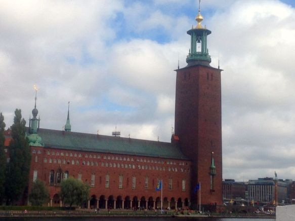 City Hall, Stockholm.