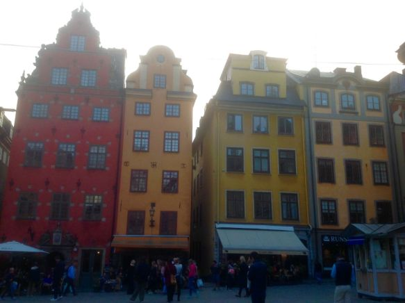 Gamla Stan, Stockholm's old town that dates back to the 13th century.