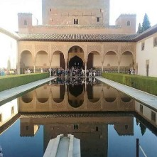 Reflections of The Alhambra.