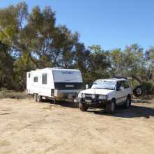 Quilpie - free camp.
