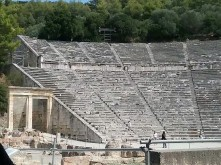 Great theater at Mycenae - 1300BC