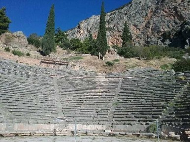 The theater at Delphi