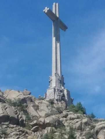 500 foot cross at the underground basilica