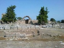 Ancient road to Corinth